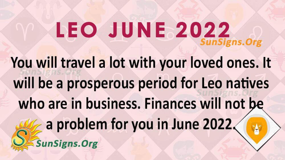 leo june 2022