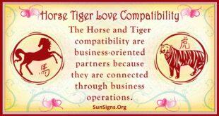 horse tiger compatibility