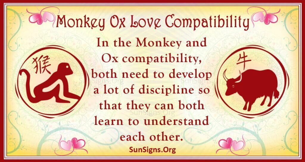 monkey ox compatibility