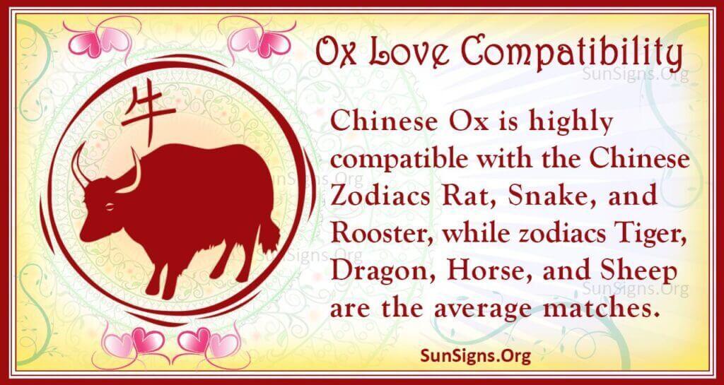 ox love compatibility