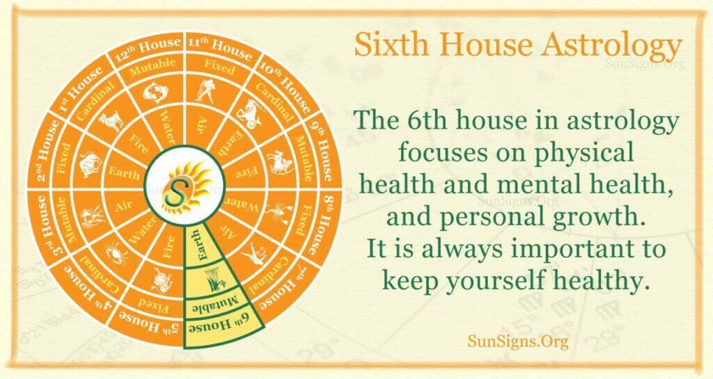 sixth house astrology