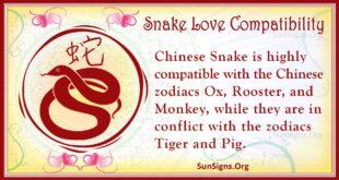 snake love compatibility