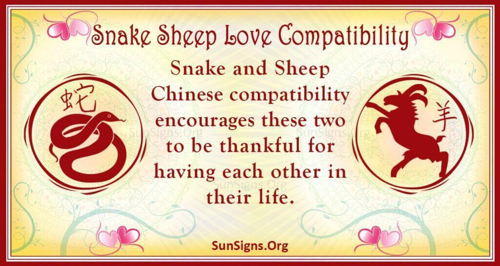 snake sheep compatibility