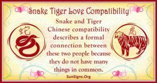 snake tiger compatibility