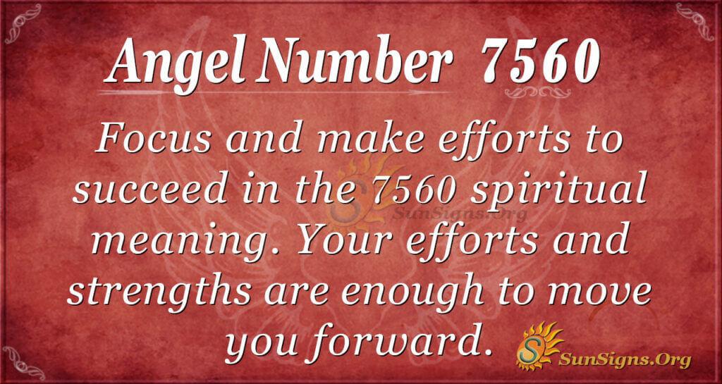 7560 angel number